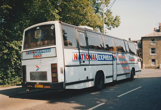 Wessex B970 HTY at Cambridge - 21 Aug 1991