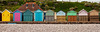 Beach huts at Budleigh