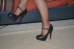 Chantal est en forme !   Extreme heels - Talons hauts extrêmes