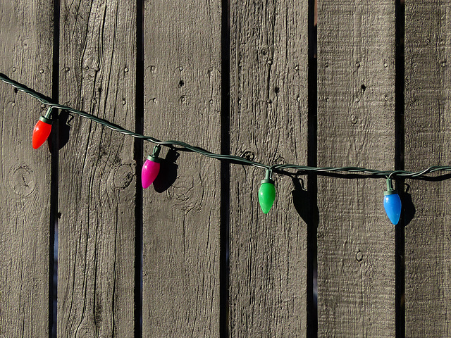 Christmas remnants