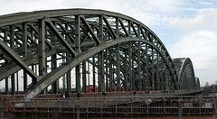 Cologne Hohenzollernbrucke (#0517)