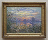 Marine View with Sunset by Monet in the Philadelphia Museum of Art, August 2009