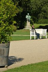 Im Schlosspark Ludwigslust