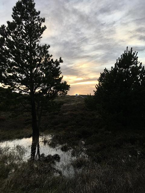 Sunset in DK