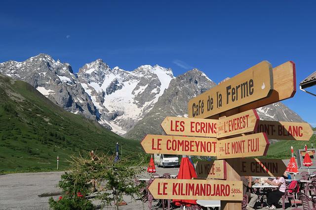 Devant La Meije, Col du Lautaret (France)