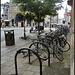 city centre cycle racks