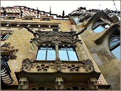 Barcellona : Casa Amattller e Casa Batlló - due palazzi speciali a stretto contatto