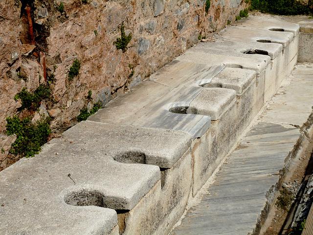 Ephesus- Latrine