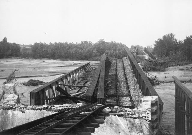 ELNE (1940) Pont du Tech N°2