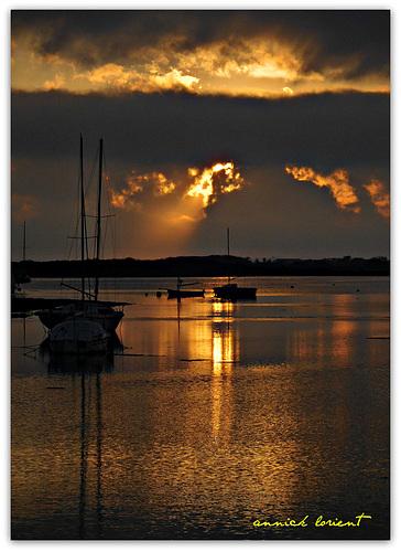 RIANTEC, au coucher du soleil