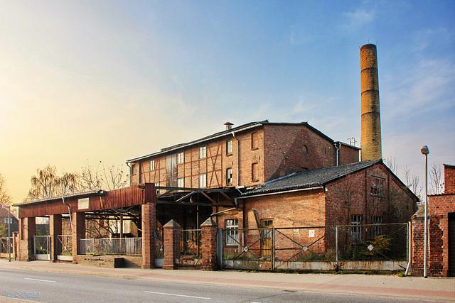 Grabow, alte Fabrik