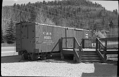 C&S Narrow gauge boxcar 8323