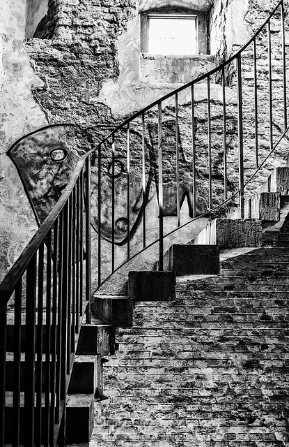 Treppe im Bismarckturm