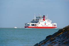 Entering Southampton Water