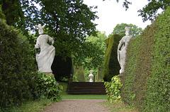 Gardens, Renishaw Hall, Eckington, Derbyshire