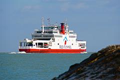 Leaving Southampton Water