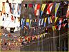 Genova : 70° anniversario Costa Crociere - Il Gran Pavese in via XX Settembre - (955)