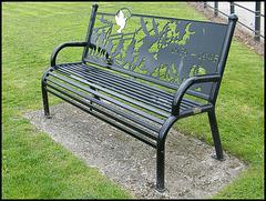 seat at Sebastopol Gardens