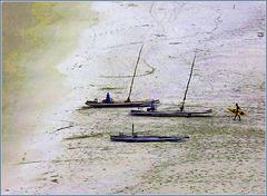 Ilhéus : piccole barche atlantiche artigianali
