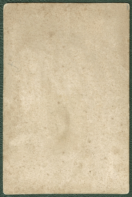 Hungarian family, possibly nobility: verso