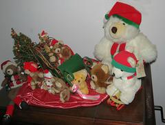 Christmas bears ..