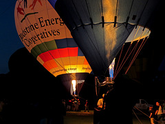 Balloons at a Night Glow Show