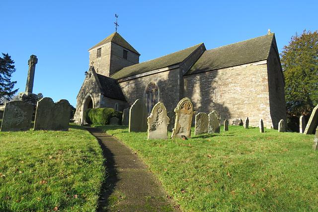 rowlestone  church, herefs.
