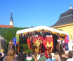 Mittelalterlicher Markt in Schloss Weesenstein - Müglitztal