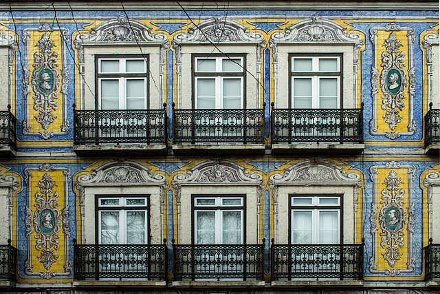 Azulejo-Fassade