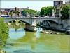 Roma : Il ponte Vittorio Emanuele II
