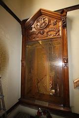 War Memorial, Saint George's Church, Wigan