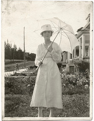 Summer Day with Parasol
