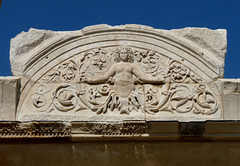 Ephesus- Temple of Hadrian- Relief