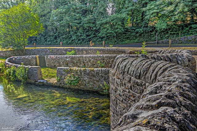 Sheepwash Bridge (River Wye)   July 2018