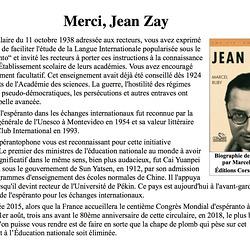 Hommage à Jean-Zay à l'occasion du transfert de ses cendres au Panthéon, le 27 mai 2015