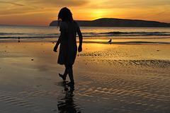 Dawn at Dusk ~ Compton Bay IOW