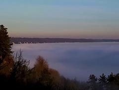 la Seine dans les nuages
