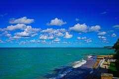 Lake Michigan, Kenilworth Beach
