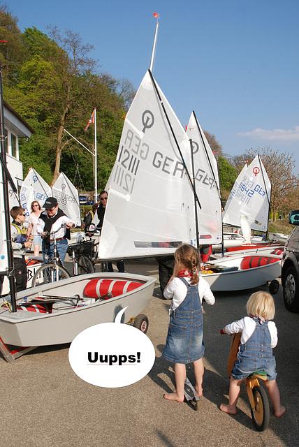 Uupps-Schon wieder eine Optimisten-Demo!