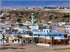 Takah : il centro della città e la moskea