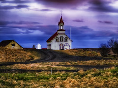 Une église en Islande