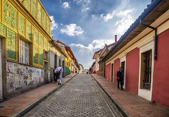 La Candelaria: Bogota , Colombia