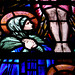 Detail of Martyn and Co Stained Glass, East Window, St Bartholomew's Church, Hognaston, Derbyshire