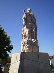 Statue of Saint John the Baptist.