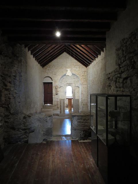 Musée ethnographique de Split : église saint André de fenestris.