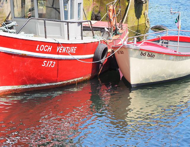 Rote Boote