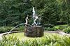 Nymphenbrunnen im Park von Burg Schlitz