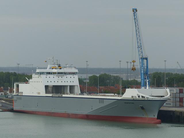 Vespertine at Zeebrugge - 31 May 2015