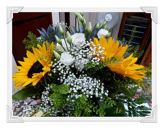 ** Mon bouquet reçu ce mercredi 12 juillet **