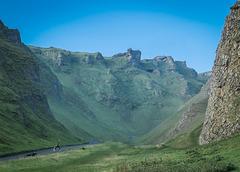 Winnats pass.... Castleton.. Derbyshire.
